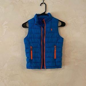 Polo Ralph Lauren boys size 5 down vest jacket